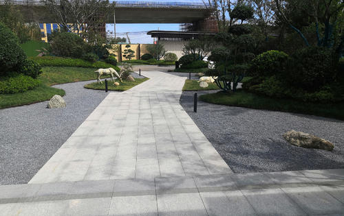 鲁胜园林 | 华业·燎原—沂河璟城示范区景观工程